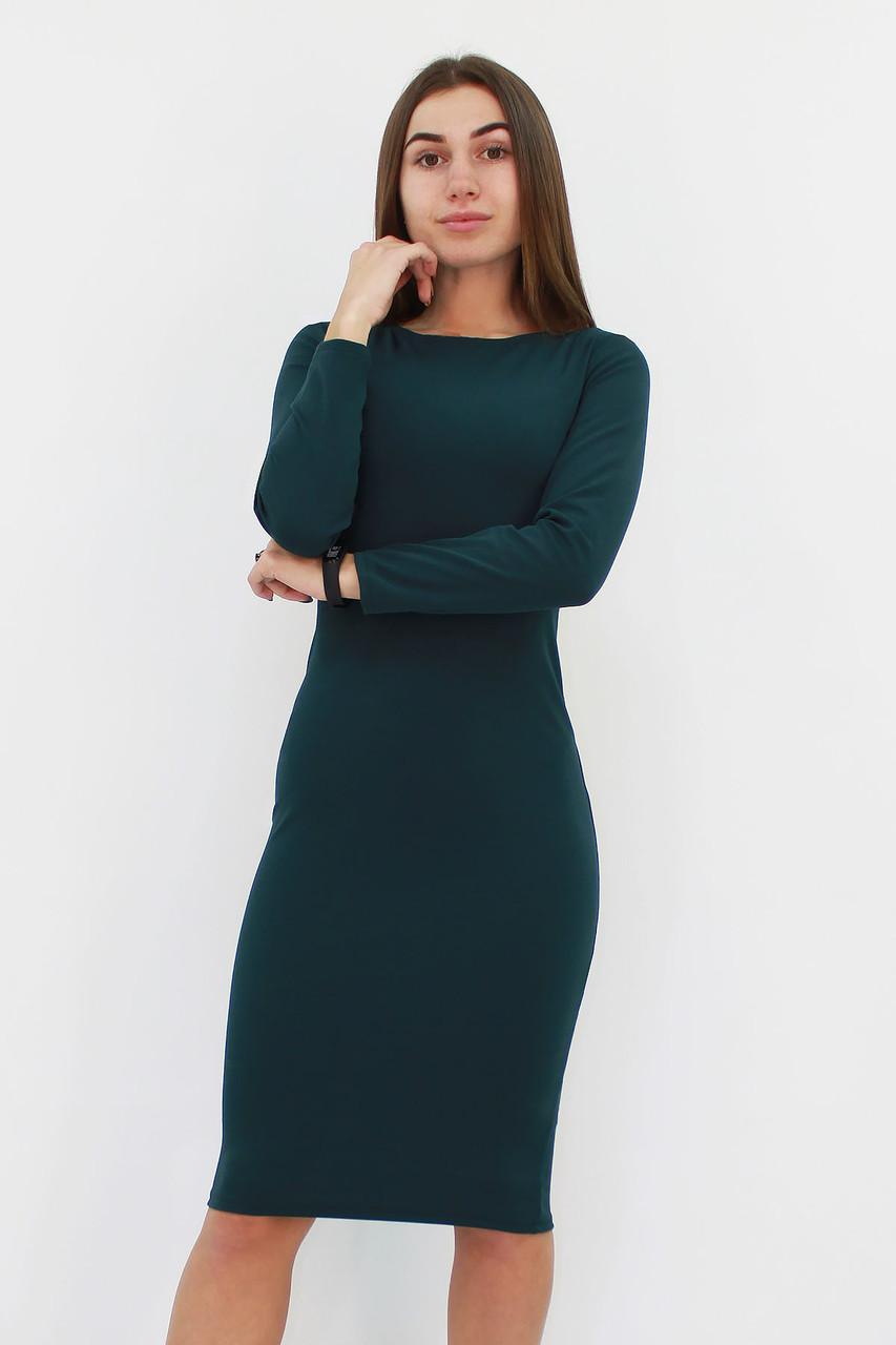 Зручне повсякденне плаття-футляр Helga, зелений
