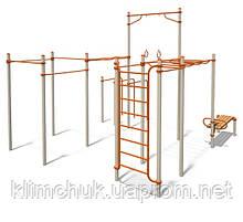 Спортивний комплекс Workout 2 для спортивних майданчиків KidSport
