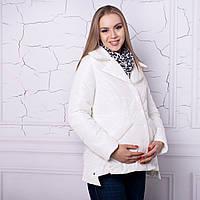 Весенняя куртка на кнопках для беременных на кнопках 42-50 р