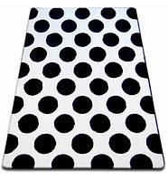 Ковер Лущув SKETCH 180x270 см - F761 Черно-белый (GR1666)