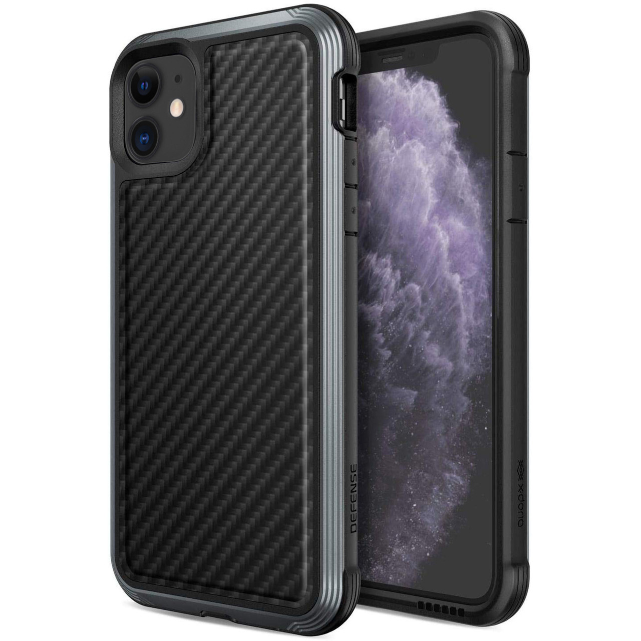 "Чехол Defense Lux Series (TPU+Metal+Carbon) для Apple iPhone 11 (6.1"")"