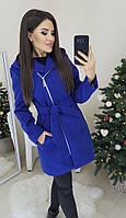 Женское пальто кашемировое бежевое