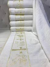 Полотенца для крещения Крыжма - велюр