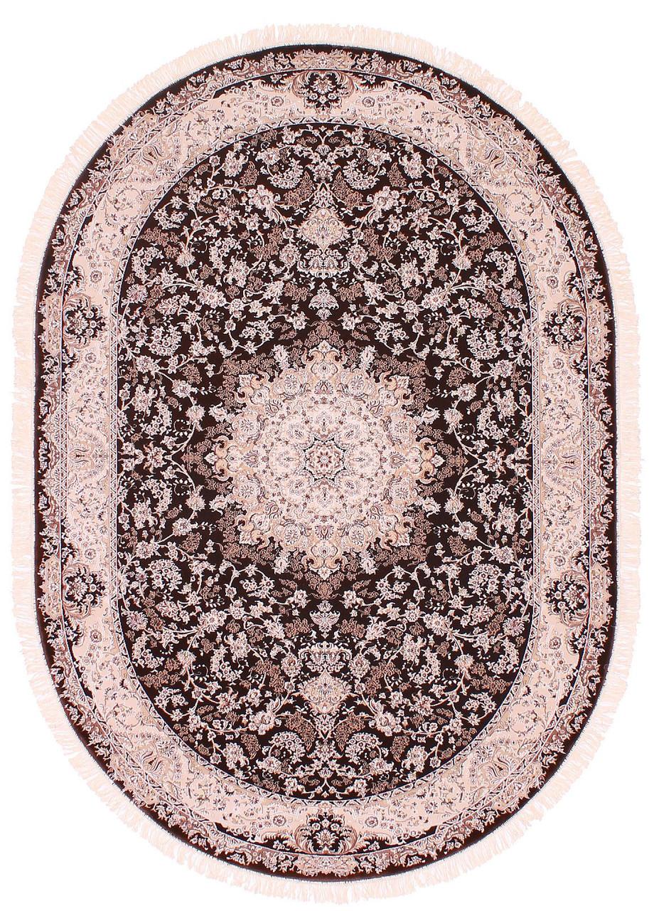 Коврик восточная классика ESFEHAN 7786A 0,8Х1,5 КРАСНЫЙ овал