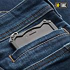 M-Tac джинсы Tactical Gen.I Dark Denim Regular Fit, фото 7