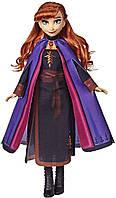 Модная кукла Disney Frozen Anna с длинными рыжими волосами Disney Frozen Anna Fashion Doll with Long Red Hair