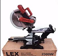 Пила торцовочная  Торцовка  LEX LXCM212 (Ременной привод, 305 диск)
