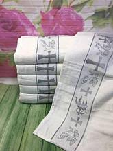 Полотенца для крещения Крыжма велюр.