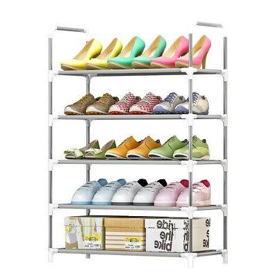 Этажерка обувница Folding Rack (5 ярусов)
