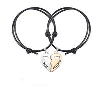Двойные браслеты для лучших друзей best friends