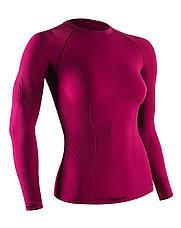 Термокофта женская спортивная Tervel Comfortline (original), лонгслив, кофта, термобелье зональное, бесшовное, фото 3