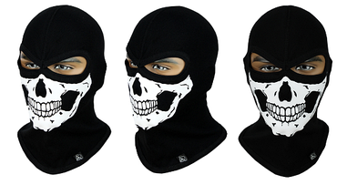 Балаклава с черепом Rough Radical Scull S4 (original), маска, подшлемник