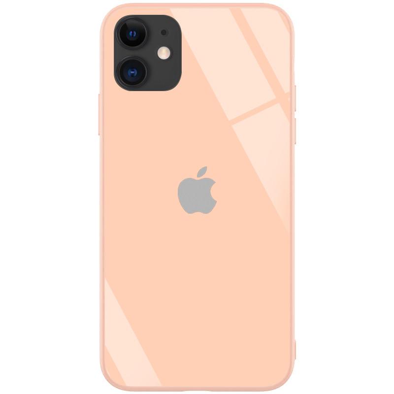 "TPU+Glass чехол GLOSSY Logo series для Apple iPhone 11 (6.1"")"