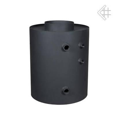 Радиатор для дымохода ТУРБОДЫМ для подогрева воды вертикальный, фото 2