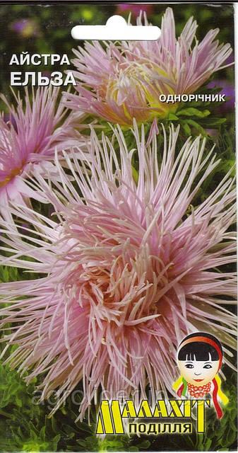 Семена цветов Астра Эльза 0.5г (Малахiт Подiлля)