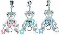 Плюшевая игрушка - подвеска с вибро Baby mix Мишка