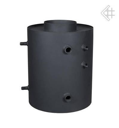Радиатор для дымохода ТУРБОДЫМ для подогрева воды вертикальный со змеевиком, фото 2