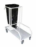 Столик-тележка для уборки СТ-ПТ, перевозки инвентаря и средств для уборки