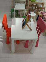 Комплект (стіл + стільчик), стол, стол детский, стул, Mammut IKEA, маммут, ИКЕА