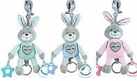 Плюшевая игрушка - подвеска с вибро Baby mix Кролик