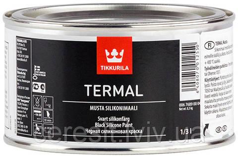 Термал Тіккуріла чорна силіконова фарба 0,333л (чорна)