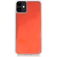 "Неоновый чехол Neon Sand glow in the dark для Apple iPhone 11 (6.1""), фото 1"