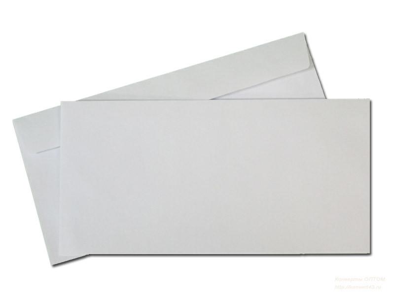Почтовый конверт DL или Е65, 110 х 220 мм, SKL, Евро, от 1 шт