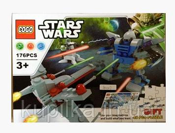 "Конструктор COGO 80017 ""Stars Wars"" (аналог LEGO Star Wars), 176 деталей"