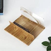 Увеличитель экрана телефона 3D Enlarged Screen Magnifier ProX-Trend Дерево, фото 2