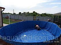 Плівка ПВХ лайнер д. 5,5 метра Mistry для круглих збірних морозостійких басейнів Azuro, Atlantic Pools, фото 2