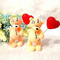 """Мыло """"Мишка Тедди с воздушным шариком-сердечком"""", фото 1"""
