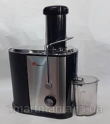 Соковыжималка Domotec MS 5221 электрическая для твердых овощей и фруктов 1200W