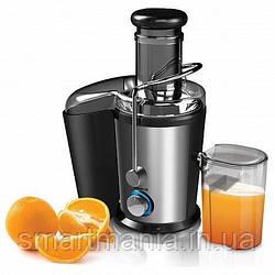 Соковыжималка Domotec MS 5220 электрическая для твердых овощей и фруктов 600W