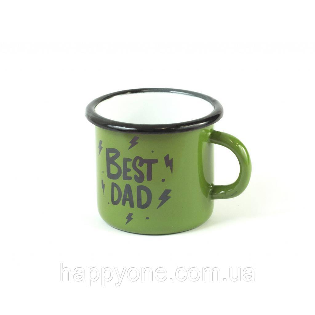 Чашка эмалированная «Best dad» (270 мл)