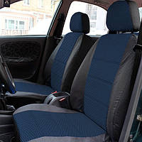 Чехлы на сиденья Рено Меган 2 (Renault Megane 2) (универсальные, автоткань, с отдельным подголовником)