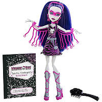 Кукла Monster High Спектра (Spectra Vondergeist - Polterghoul) из серии Супергерои Монстр Хай