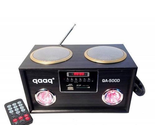 "Портативная акустическая система ""QAAQ"" QA-500D Аудио-выход MP3 плеер USB/SDcard вход , фото 2"