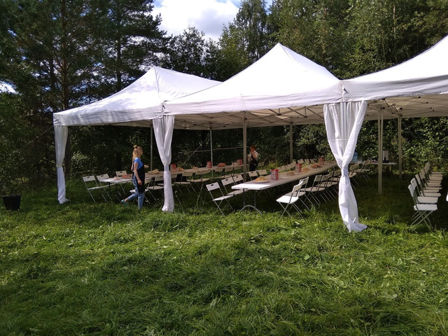 палатка кейтеринг