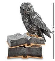 Шкатулка Veronese Сова на книгах 18 см 1901901 с книгами