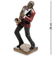 Статуэтка Veronese Саксофонист 28 см 1904610 фигурка музыкант статуетка веронезе