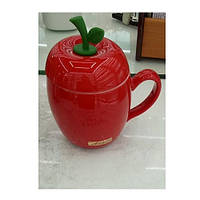Чашка с крышкой и ложкой 380мл