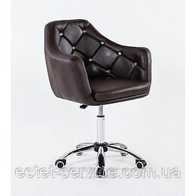 Косметическое кресло HC830K на колесах в ЦВЕТАХ кожзам