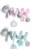 Плюшевая игрушка спираль Baby Mix Мишка