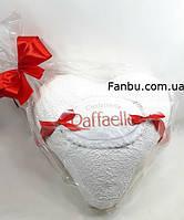 "Упаковка подарка любимому человеку к 8марта""сердце -raffaello"""