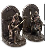 Статуэтка держатель для книг букенды Veronese Воины Крестоносцы 2 шт 19 см 1904324 упора подставка