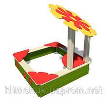 """Пісочниця """"Квітка"""" для дитячих ігрових майданчиків KidSport"""