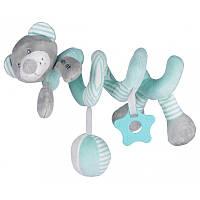 Плюшевая игрушка спираль Baby Mix Мишка Mint