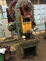 Пресс кривошипный К116Г, усилием 63т