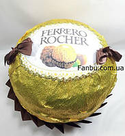 """Упаковка подарка любимому человеку к 8марта """"огромная Ferrero rocher"""""""