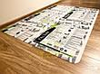 Защитный коврик под кресло из поликарбоната Tip Top™ 2мм 1000*1500мм Прозрачный (закругленные края), фото 2